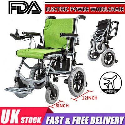 £950 • Buy Foldable Lightweight Portable Electric Power Wheelchair Mobility Aid Motorized