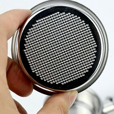 £7.34 • Buy Stainless Steel Double 2 Cup Filter Basket Fit For Breville 58mm Portafilter