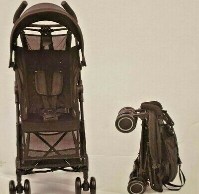 AU148.99 • Buy Bubstar Black Lightweight Baby Stroller Compact Easy Fold Travel Carry On Plane