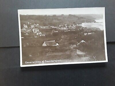£1.49 • Buy Pembrokeshire SAUNDERSFOOT, General View Of Houses And The Sea. Rp Postcard 1916