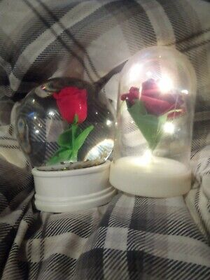 £3 • Buy Snow Globe Rose And Light Up Rose
