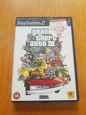 £3 • Buy Grand Theft Auto 3 - PS2 - PAL - First Class Postage