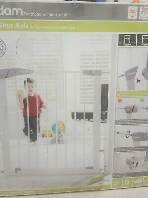 £20 • Buy Lindam Easy-Fit Plus Deluxe Safety Gate - White