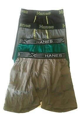 £7.45 • Buy Hanes Boxer Briefs 4 Pack Mixed Lot Men's Size Small