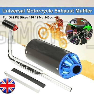 £31.99 • Buy Performance CNC Exhaust Pipe System Muffler For 110cc 125cc 140cc Pit Dirt Bike#