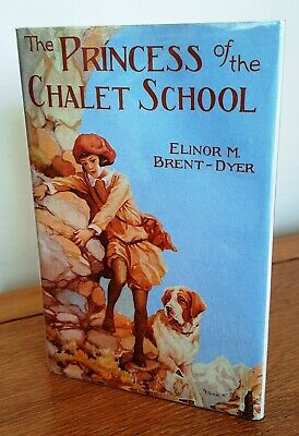 £15 • Buy The Princess Of The Chalet School – Dw 1988 – Elinor Brent-Dyer **RARE**