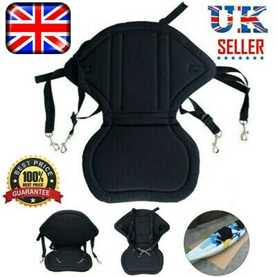 £15.99 • Buy Deluxe Kayak Seat Adjustable Sit On Top Canoe Back Rest Support Cushion Safety