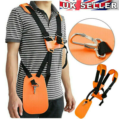 £8.88 • Buy Strimmer Harness Quick Release Fits Most STIHL & Many Other Brushcutter UK