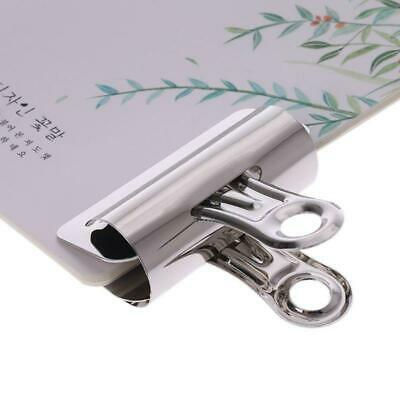 £2.65 • Buy Metal Bulldog Clips Paper Letter Document Ticket File Binder Grip Clip Clamp
