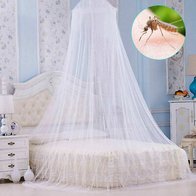 £4.99 • Buy Dome Baby Mosquito Net Canopy Bed Netting Mesh Princess Bedding Cover Fly Insect