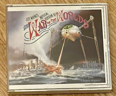 £1.99 • Buy War Of The Worlds - Special Edition Double CD With Booklet