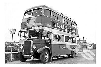 £1.20 • Buy Bus Photograph SOUTHDOWN MOTOR SERVICES GCD 42 [242] Chichester '60