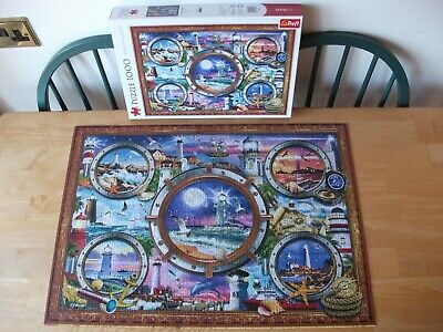 £0.99 • Buy Trefl  Lighthouses  1 X 1000 Puzzle Excellent Condition