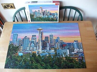 £0.99 • Buy Trefl  Space Needle, Seattle, USA  1 X 1500 Puzzle Excellent Condition