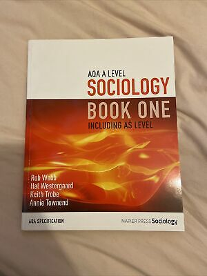 £15 • Buy AQA A Level Sociology Book One And Two