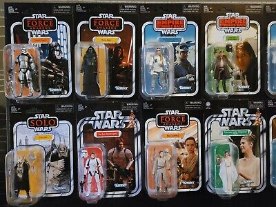 $ CDN325 • Buy Star Wars The Vintage Collection Lot Of (15) Brand New Unopened Action Figures