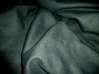 £5.99 • Buy Gorgeous  Wool Blend  Fabric Remnant Colour Forest