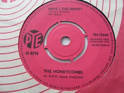£1.50 • Buy The Honeycombs.......have I The Right......7 ..1964......rock / Pop / Beat