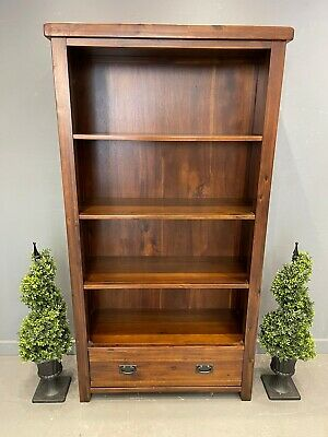 £95 • Buy Library Bookcase Mahogany Display Cabinet French Bookcase
