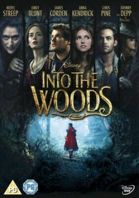 £7.45 • Buy Into The Woods DVD .11.