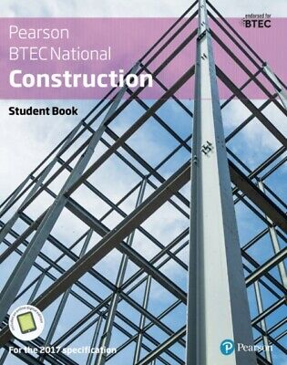 £52.65 • Buy BTEC Nationals Construction Student Book + Activebook: For The 2017...