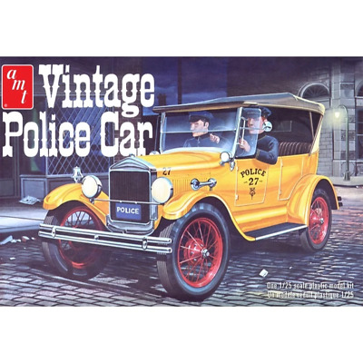 £39.99 • Buy AMT 1182 1927 Ford T Vintage Police Car 1:25 Scale Kit