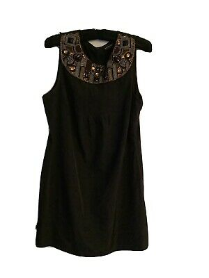 £4.35 • Buy Principles Jewels Beaded Shift Dress/top Size 14. VGC, Unwanted Gift