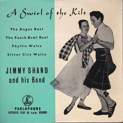 £8.53 • Buy Jimmy Shand And His A Swirl Of The Kilt Vinyl 7 .1177.