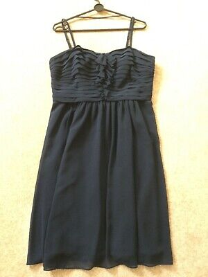 AU27.67 • Buy Gorgeous Special Occasion Dress - Navy Size 16 Excellent Condition