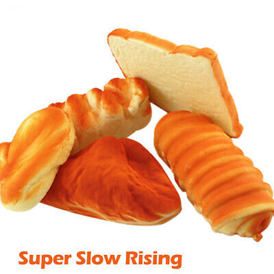 AU16.49 • Buy 5pcs Simulated Bread Set Scented Slow Rising Kids Gift Fun Stress Relief Toys AU