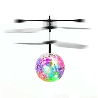 AU21.37 • Buy Toys For Boys Age 3 4 5 6 7 8 9 10 Year Old Flying Ball Mini Drone LED Light Up