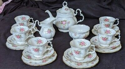 £180 • Buy Royal Albert Tranquility 27 Pieces Perfect