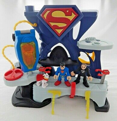 £12.99 • Buy Fisher Price Imaginext Superman, Super Dog And General Zod Fighting Playset