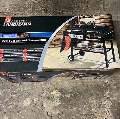 £292 • Buy Brand New * Unopened Grillchef By Landmann, Duel Fuel Gas And Charcoal BBQ