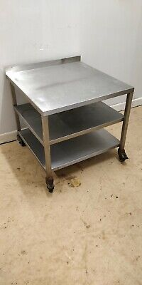£100 • Buy Stainless Steel Stand Trolley For Kitchen Heavy Duty Commercial