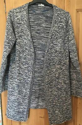 £6 • Buy Braintree Size L Womens Long Sleeve Knitted Grey Mix Cardigan Ex Cond
