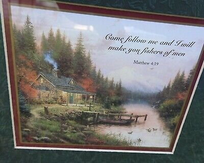 £26.87 • Buy Thomas Kinkade Accent Print The End Of A Perfect Day With COA