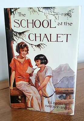 £15 • Buy The School At The Chalet – Dw 1988 – Elinor Brent-Dyer **CHALET SCHOOL**
