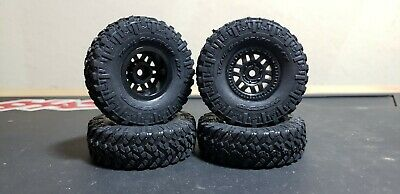 $19.99 • Buy NEW Axial 1/24 SCX24 Nitto Trail Grappler M/T Tires, Complete Mounted Wheel/Tire