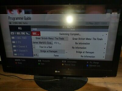 £50 • Buy 42 LG 42LG3000 HD Ready Digital Freeview LCD TV With Remote