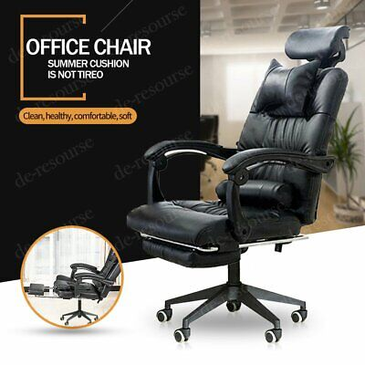 £54.59 • Buy Racing Gaming Executive Computer Chair Swivel Office Desk Recliner With Footrest