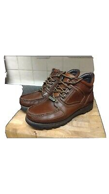 £40 • Buy Rockport Xc Hydro Shield Boots Size 8 Brown