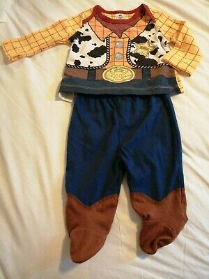 £3 • Buy Disney Baby 0-3 Months Woody Two Piece Outfit Adorable And Lovely Condition