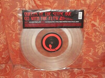 £12.49 • Buy Queens Of The Stone Age Go With The Flow Rare 2003 12  Clear Vinyl 497 870-0