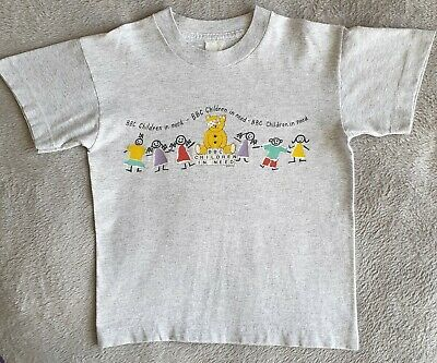 £3.99 • Buy Vintage Children In Need T-Shirt (from The 90's), Age 7 Years, Good Condition