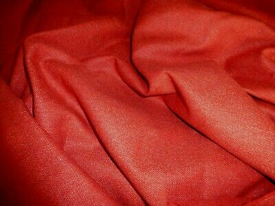 £5.99 • Buy Gorgeous  Wool Blend  Fabric Remnant Colour Coral
