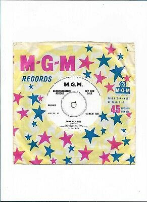 £19.99 • Buy CLYDE McPHATTER - THINK ME A KISS - (1960 45RPM MGM RECORDS  DEMO )