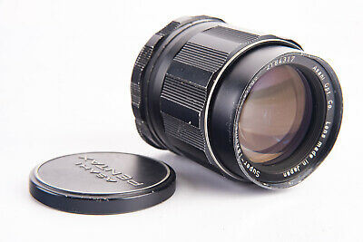 $78.01 • Buy Pentax Super Takumar 105mm F/2.8 Telephoto Lens With Front Cap For M42 Mount V14