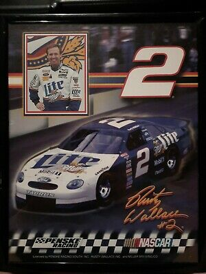 $68 • Buy Rusty Wallace Picture With Card