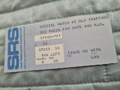 £5.50 • Buy  Manchester United Special Match Ticket